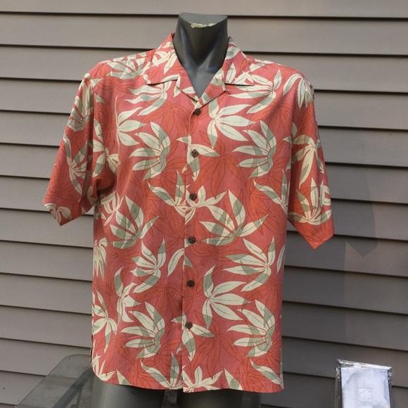 080f983a Tommy bahama silk Hawaiian shirt men's large. M_5b08b7e3a4c4852a15ecf32f